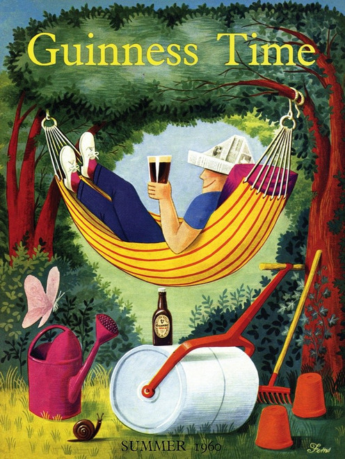 Relax with Guinness - 1000pc Jigsaw Puzzle by New York Puzzle Co.