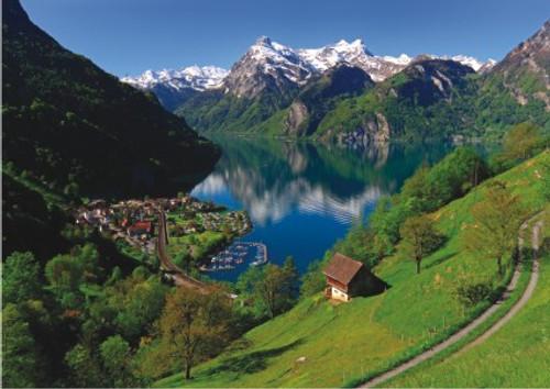 Anatolian Lake Lucerne Switzerland Jigsaw Puzzle
