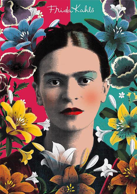 Frida Kahlo - 1000pc Jigsaw Puzzle by Educa