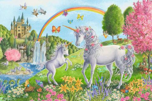 Prancing Unicorns - 24pc Floor Jigsaw Puzzle By Ravensburger