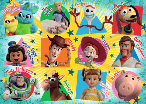 Toy Story 4 - 24pc Floor Jigsaw Puzzle By Ravensburger