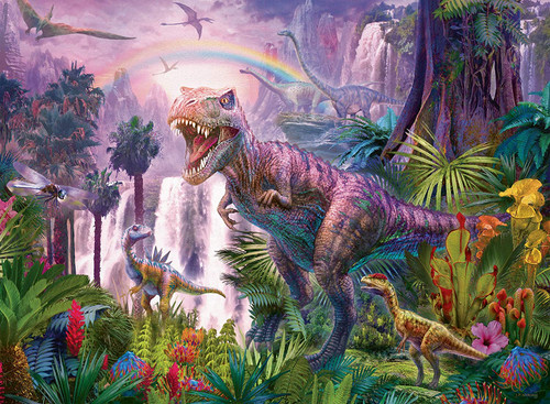 King of the Dinosaurs - 200pc Jigsaw Puzzle By Ravensburger