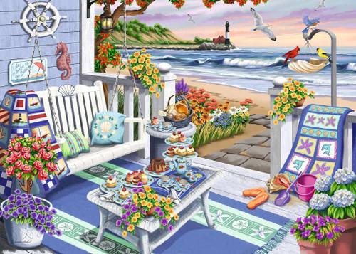 Seaside Sunshine - 300pc Large Format Jigsaw Puzzle By Ravensburger