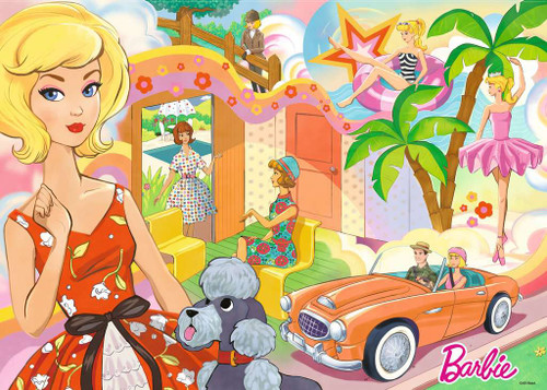 Vintage Barbie - 1000pc Jigsaw Puzzle By Ravensburger