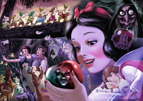 Snow White: Heroines Collection - 1000pc Jigsaw Puzzle By Ravensburger
