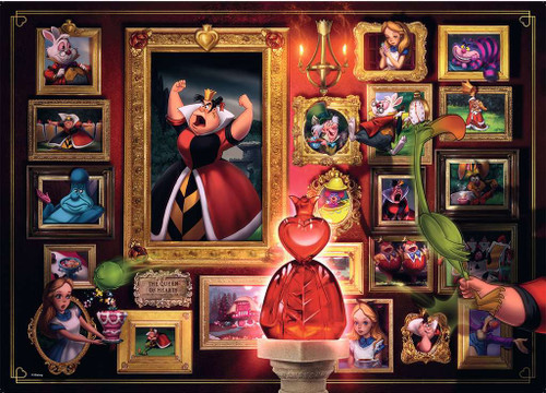 Queen of Hearts - 1000pc Jigsaw Puzzle By Ravensburger