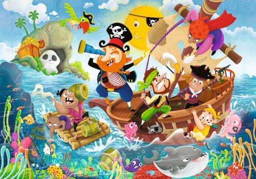 Land Ahoy! - 24pc Floor Jigsaw Puzzle By Ravensburger