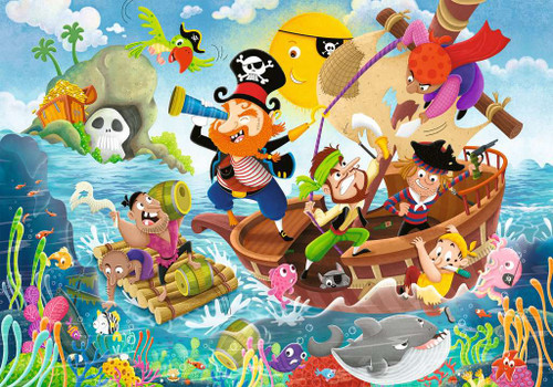 Land Ahoy! - 24pc Floor Jigsaw Puzzle By Ravensburger