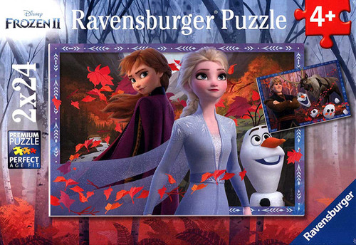 Frosty Adventures - 2x24pc Jigsaw Puzzle By Ravensburger