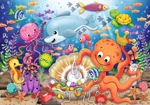 Fishie's Fortune - 24pc Floor Jigsaw Puzzle By Ravensburger