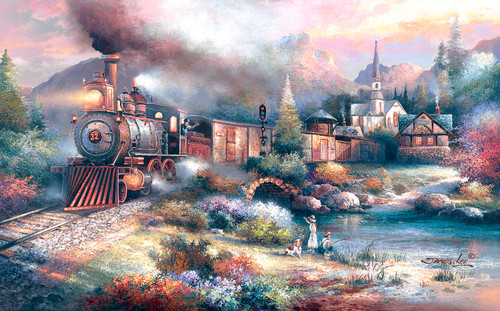Maryland Mountain Express - 1000pc Jigsaw Puzzle By Sunsout