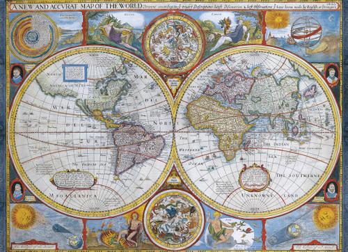 Eurographics Jigsaw Puzzles - Antique World Map