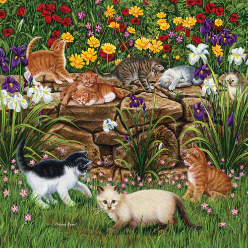 Wall Flowers - 500pc Jigsaw Puzzle By Sunsout