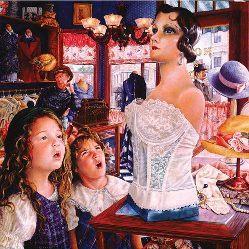 Mannequin - 1000pc Jigsaw Puzzle By Sunsout