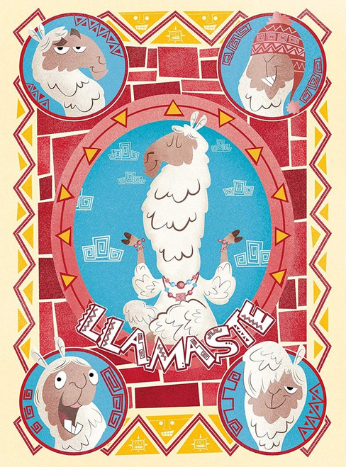 Fantastic Animals: Llamaste - 500pc Jigsaw Puzzle by Clementoni