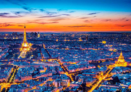 Paris View - 1500pc Jigsaw Puzzle by Clementoni