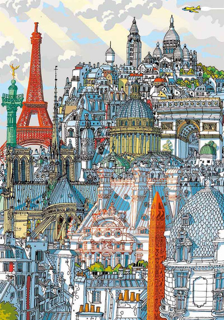 Citypuzzle: Paris - 200pc Jigsaw Puzzle By Educa
