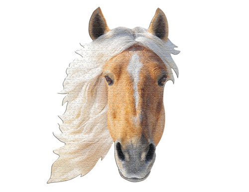 I AM HORSE - 550pc Shaped Jigsaw Puzzle by Madd Capp