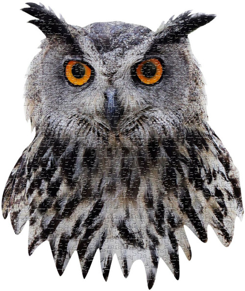 I AM OWL - 550pc Shaped Jigsaw Puzzle by Madd Capp
