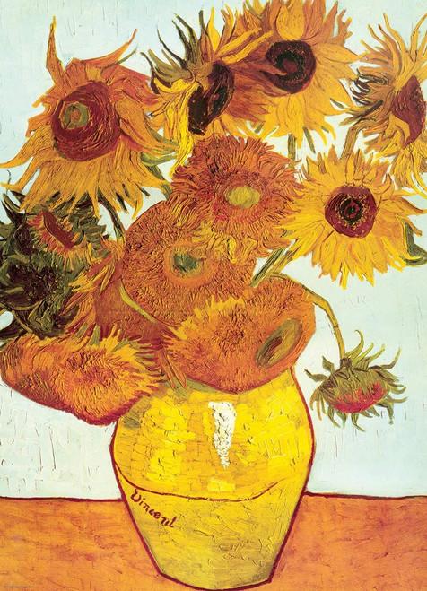 Eurographics Twelve Sunflowers by Van Gogh Jigsaw Puzzle