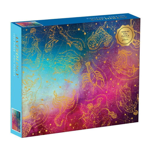 Astrology - 1000pc Foil Jigsaw Puzzle by Galison