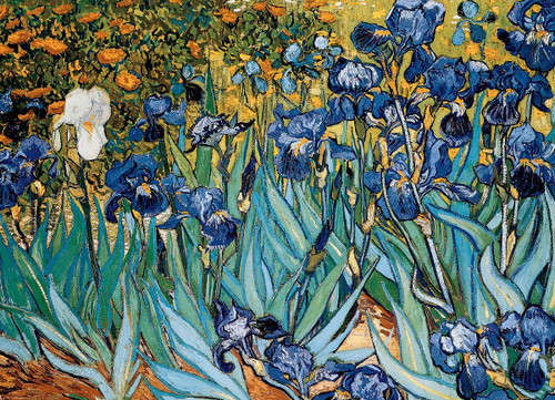 Eurographics Jigsaw Puzzles - Van Gogh: Irises