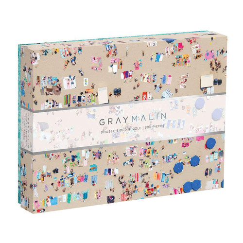 Gray Malin Beach - 500pc Double-Sided Jigsaw Puzzle by Galison