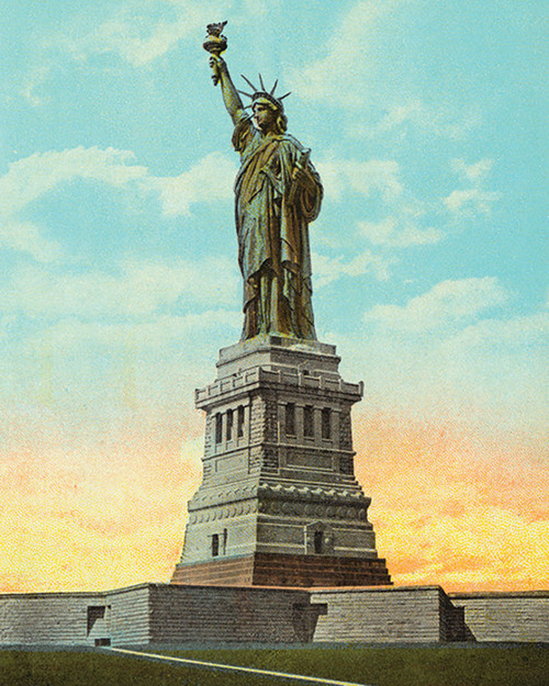 Statue of Liberty - 1000pc Jigsaw Puzzle by Pigment & Hue