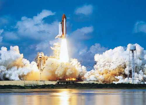 Eurographics Jigsaw Puzzles - Space Shuttle Take