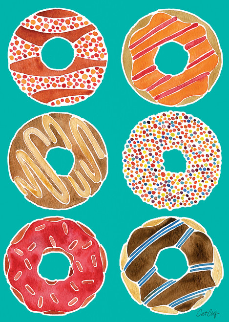 Donuts - 300pc Jigsaw Puzzle by Lang