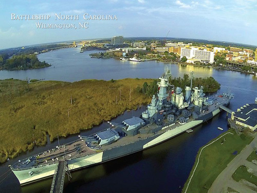 Battleship North Carolina - 550pc Jigsaw Puzzle by Heritage Puzzle