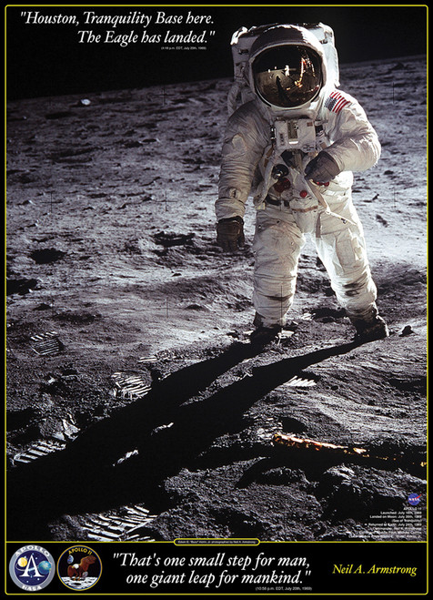 Eurographics Jigsaw Puzzles - Walk on the Moon