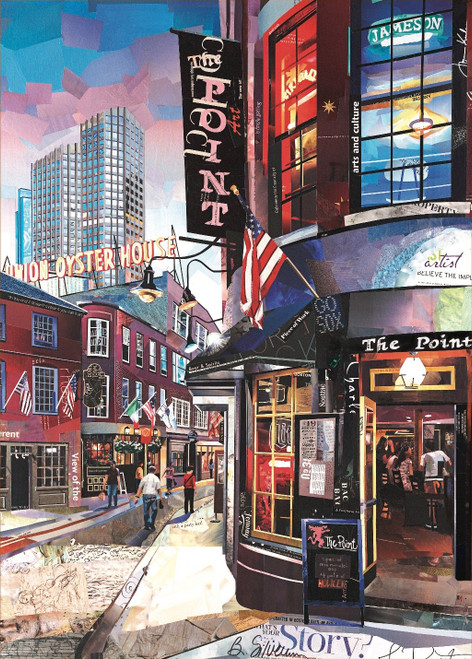 That's the Point - 500pc Jigsaw Puzzle by Art & Fable