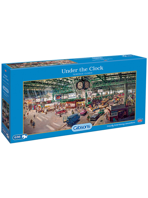 Under the Clock - 636pc Jigsaw Puzzle by Gibson