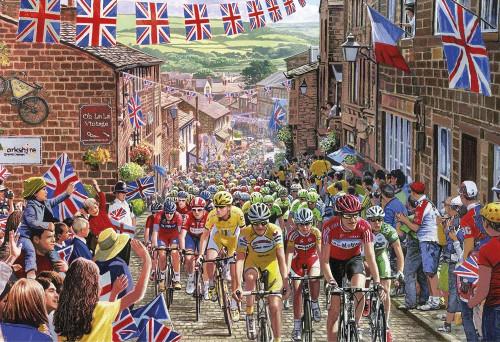 Le Tour de Yorkshire - 500pc Jigsaw Puzzle by Gibson