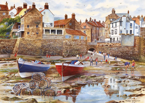 Robin Hood's Bay - 1000pc Jigsaw Puzzle by Gibson