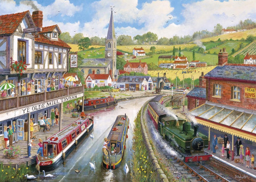 Ye Olde Mill Tavern - 1000pc Jigsaw Puzzle by Gibson