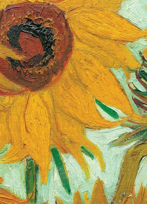 Eurographics Jigsaw Puzzles - Van Gogh: Sunflowers (detail)
