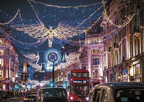 London Lights - 1000pc Jigsaw Puzzle by Gibson