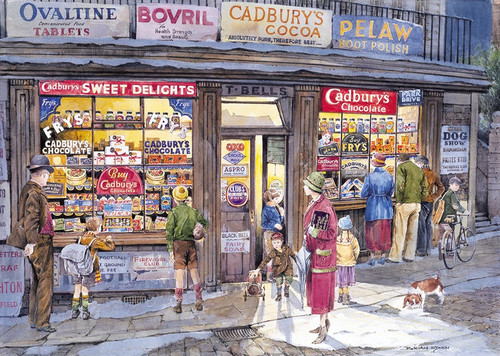 The Corner Shop - 500pc Jigsaw Puzzle by Gibson
