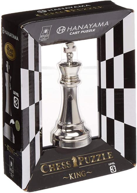 Hanayama King - Cast Chess Puzzle