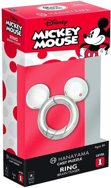 Hanayama Mickey Mouse Ring - Cast Puzzle
