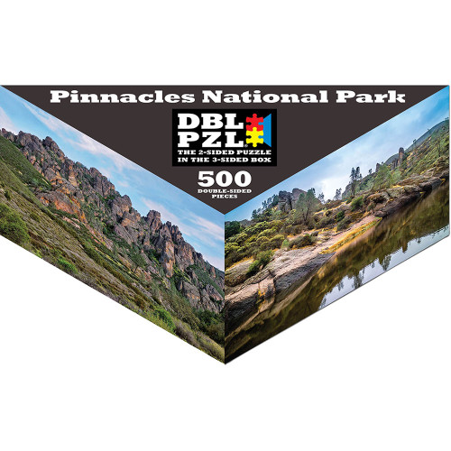 Pinnacles National Park - 500pc Double-Sided Jigsaw Puzzle by Pigment & Hue