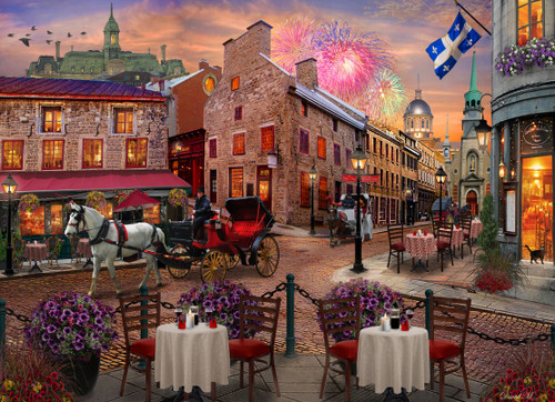 Old Montreal - 1000pc Jigsaw Puzzle by Vermont Christmas Company