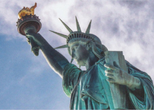Statue of Liberty in NYC - 1000pc Jigsaw Puzzle by Tomax