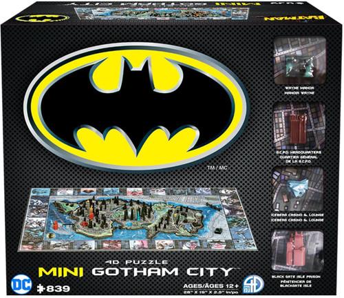 Batman Gotham City - 839pc 4D Mini Puzzle by 4D Cityscape