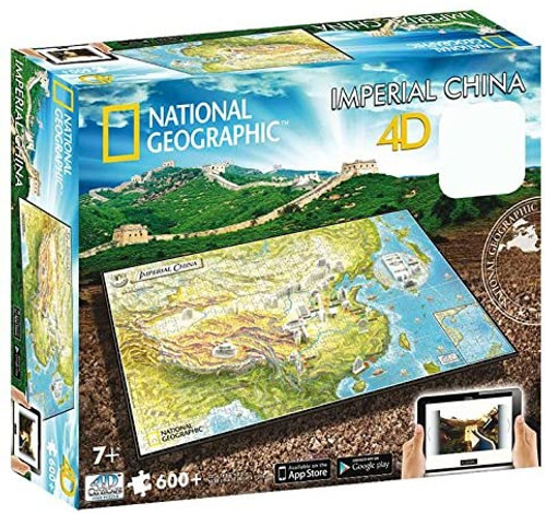 4D National Geographic Imperial China - 600+pc Jigsaw Puzzle  by 4D Cityscape