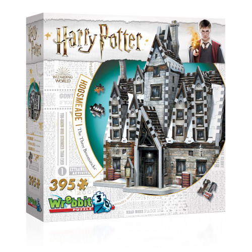 Harry Potter:  Hogsmeade - The Three Broomsticks - 395pc 3D Puzzle by Wrebbit
