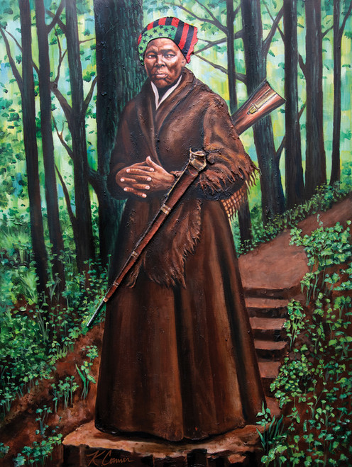 Harriet Tubman - 500pc Jigsaw Puzzle by African American Expressions