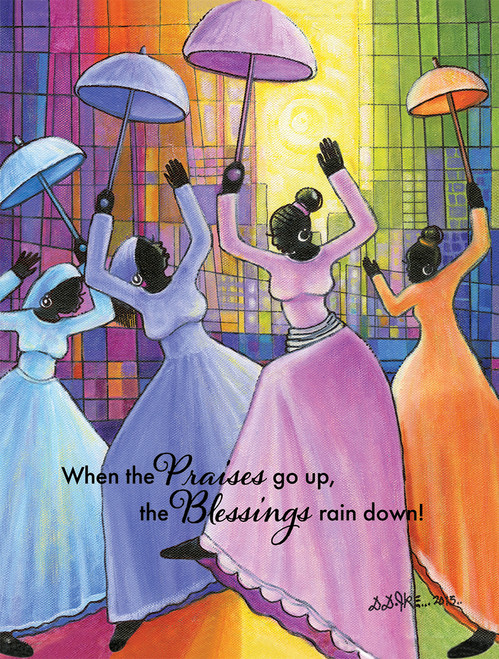 Praises Go Up - 500pc Jigsaw Puzzle by African American Expressions